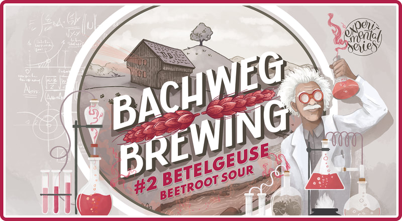 The 2nd beer in our experimental series is also the first sour released by Bachweg Brewing! We've paired a light malt/wheat base with the earthy goodness of beetroot and a subtle tartness.